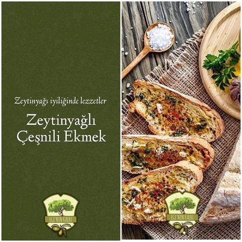 Egenin Kalbi Zeytinyağı Çeşnili Ekmek Tarifi